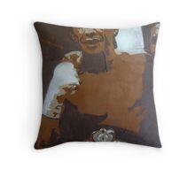 Arturo Gatti Throw Pillow