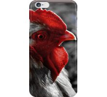Red Rooster color select iPhone Case/Skin