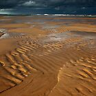 ripples, balmedie beach by codaimages