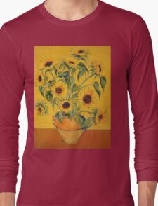 'A Brush with Vincent'.  Long Sleeve T-Shirt