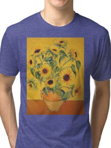 'A Brush with Vincent'.  Tri-blend T-Shirt