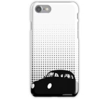 Halftone - VW Beetle iPhone Case/Skin