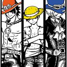 Brothers - colored hats by seviesphere