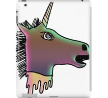 uni the severed unicorn head iPad Case/Skin