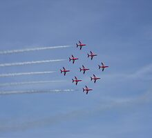 Red Arrows by Tanya Housham