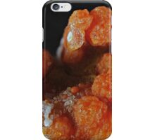 Red Grape Agate Cluster iPhone Case/Skin