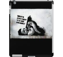 Banksy School iPad Case/Skin