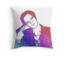 Tarantino Colors Throw Pillow