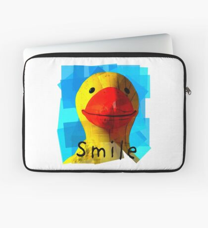 Smile and the whole world smiles with you.... Laptop Sleeve