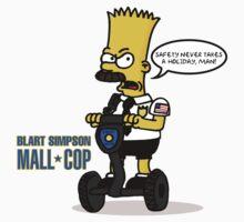 Blart Simpson: Mall Cop  by SEGAbits