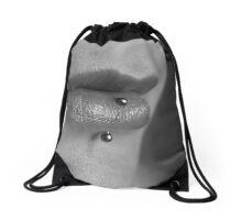 Beautiful Lips Drawstring Bag