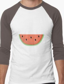 Watermelon Men's Baseball ¾ T-Shirt