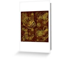 Gold Soul Greeting Card