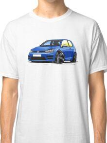 VW Golf (Mk7) R Blue Classic T-Shirt