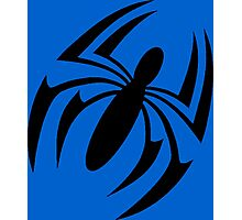 Scarlet Spider Symbol Photographic Print