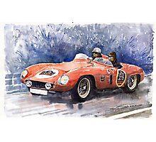 Ferrari 500 Mondial Photographic Print