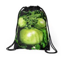 Green Tomatoes Drawstring Bag