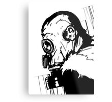 Gas Mask 1.0 Metal Print