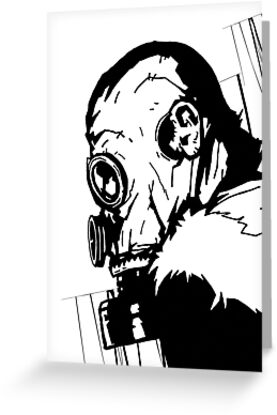 Gas Mask 1.0 by matthewdunnart
