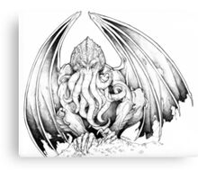 God-being CTHULHU  Canvas Print