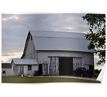 Rural Farmland Barn Poster