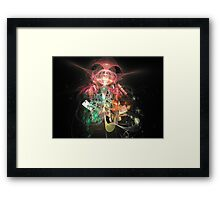 Abstract: Time Framed Print