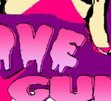 Love Gun Sticker
