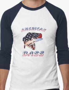 American Bass Men's Baseball ¾ T-Shirt