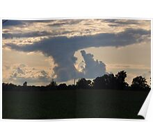Unusual Cloud Formation Poster