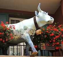 It Is Well Known, The Swiss Love Their Cows... by Alexandra Lavizzari