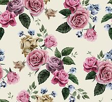 Pretty Rose Pattern by Anaa