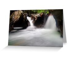 The Magic Place - Lower Huntington Gorge Greeting Card