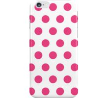 Red Polka Dots iPhone Case/Skin