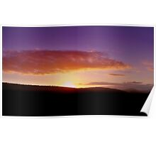 South African Sunset Poster