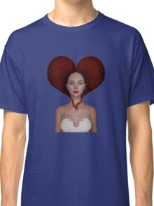 Queen of hearts portrait Classic T-Shirt