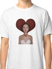 Queen of hearts portrait Classic T-Shirt