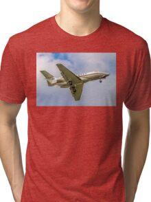 BAe125 CC.3 ZE396 Tri-blend T-Shirt