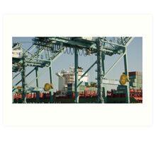 China Cargo Art Print