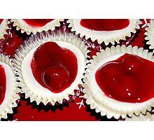Cherry Tarts... Photographic Print