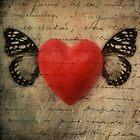 My Heart Flutters by wolfandbird