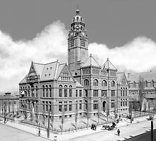 Old Jefferson County Courthouse - Birmingham Alabama by Mark Tisdale