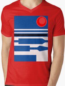 R2D2 Mens V-Neck T-Shirt