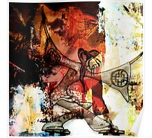 Romantus Distressed Collection: Chi Poster