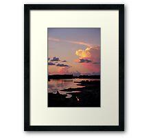Painted Skies Framed Print