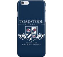 Toadstool University - Dark iPhone Case/Skin