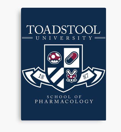 Toadstool University - Dark Canvas Print
