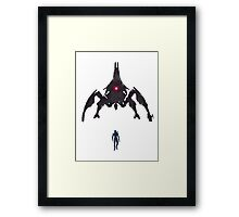 Something Ere The End (No Text) Framed Print