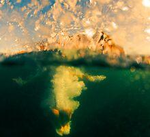 Girl in the bubble by Allan  Wilson