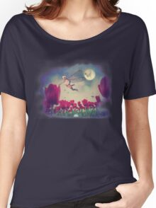 Fairy and Tulips 5 Women's Relaxed Fit T-Shirt