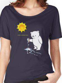 Global Warming Sucks Polar Bear Women's Relaxed Fit T-Shirt